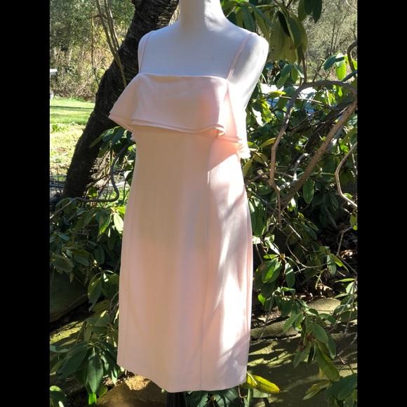 0eed60b9 Karl Lagerfeld Dresses   Nwt Rose Ruffle Sheath Dress   Poshmark